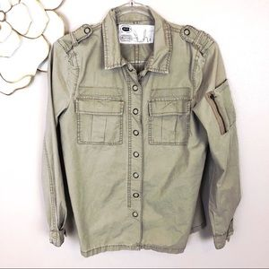 Anthropologie Blank NYC safari utility jacket